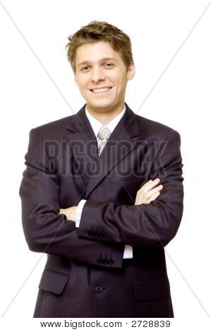 Young Smiling Businessman