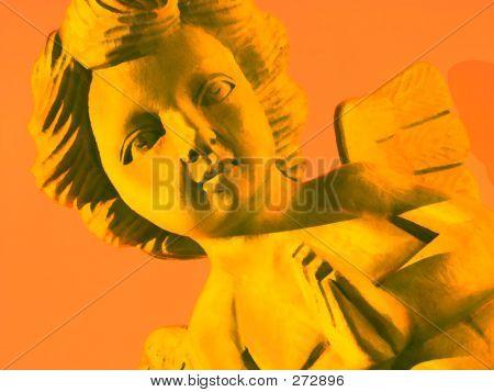 Peace Angel Yellow
