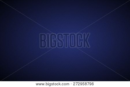 Dark Blue Abstract Metallic Background With Slanting Lines, Blue Striped Pattern, Parallel Lines And