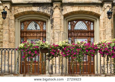 Balcony, Sigmaringen Castle, Germany