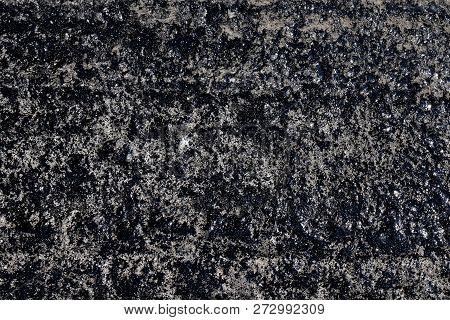 Asphalt, Texture Asphalt At The Road Under Construction, Asphalt Background, Asphalt On Concrete Tex