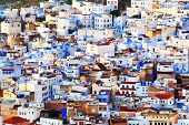 Chefchaouen Old Medina, Morocco, Africa poster