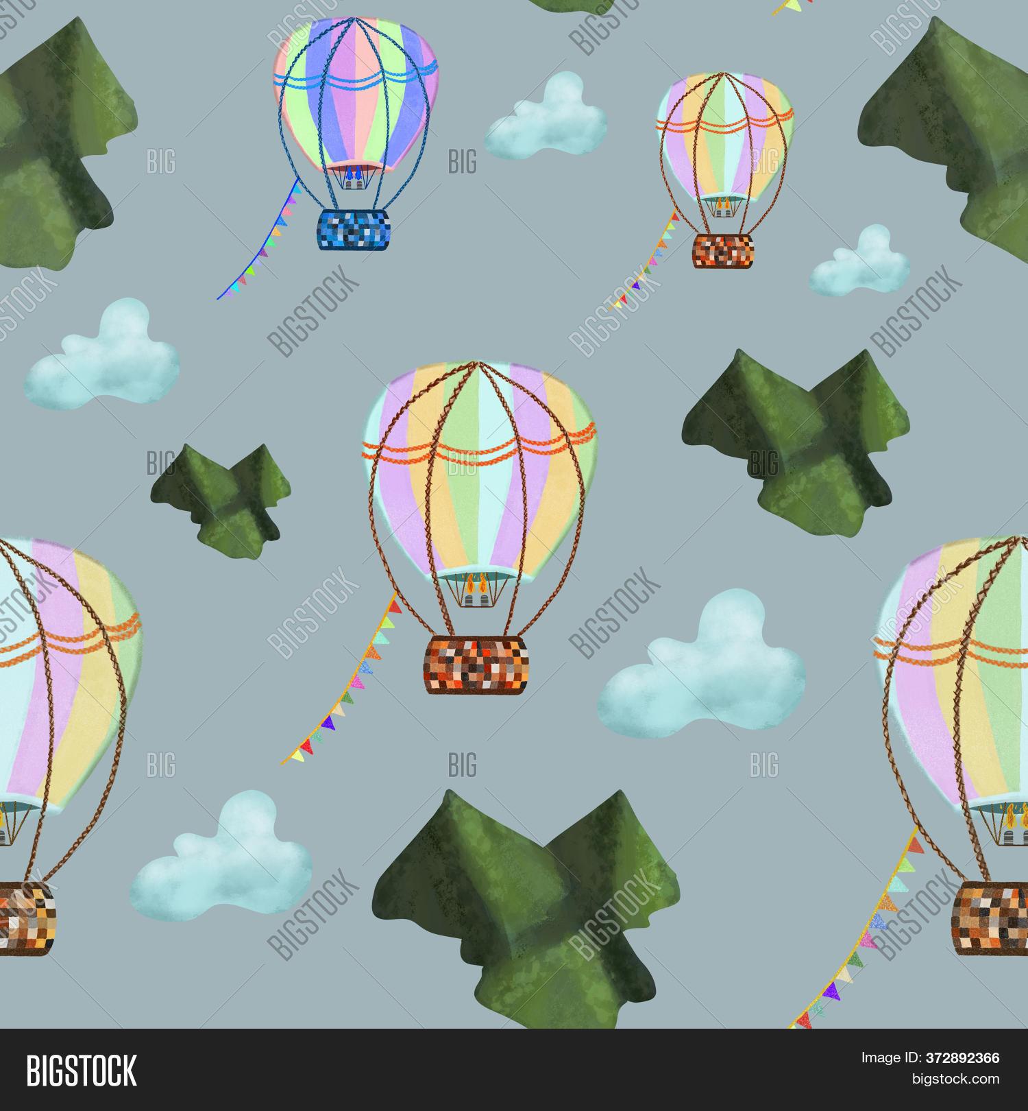 Hot Air Balloons Image Photo Free Trial Bigstock
