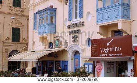 Castille Hotel In Valletta Malta - Valletta, Malta - March 5, 2020