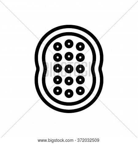 Anti Cellulite Massager Tool Icon Vector. Anti Cellulite Massager Tool Sign. Isolated Contour Symbol