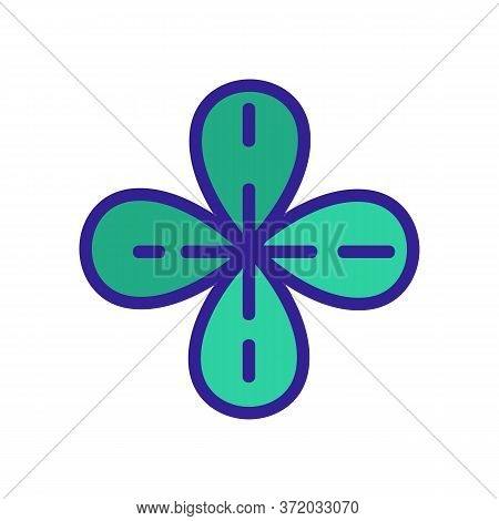 Thyme Heap Icon Vector. Thyme Heap Sign. Color Symbol Illustration