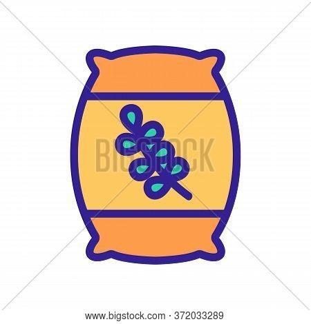 Thyme Glass Bottle Icon Vector. Thyme Glass Bottle Sign. Color Symbol Illustration