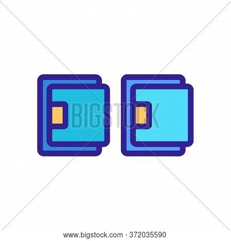Cellulite Massager Set Icon Vector. Cellulite Massager Set Sign. Color Symbol Illustration