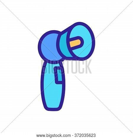 Anti Cellulite Ultraviolet Device Icon Vector. Anti Cellulite Ultraviolet Device Sign. Color Symbol