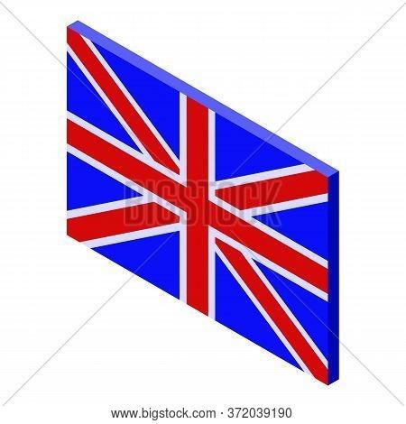 British Foreign Language Icon. Isometric Of British Foreign Language Vector Icon For Web Design Isol