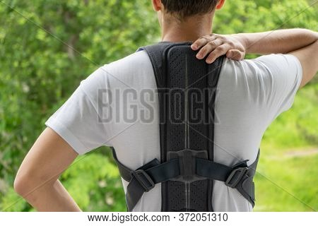 Orthopedic Lumbar Support Corset Products. Lumbar Support Belt. Posture Corrector For Back Clavicle