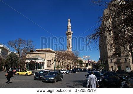 Cairo / Egypt - 05 Mar 2017. Tahrir Square In Cairo, Egypt