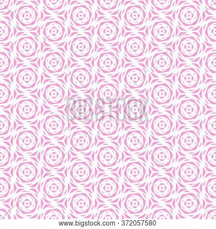 Continuous Islamic Vector Circular Deco Texture. Repetitive Decorative Graphic Continuous Decor Patt