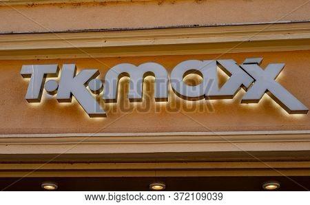 T K Maxx Store In The City - Heidelberg, Germany - May 28, 2020. High Quality Photo