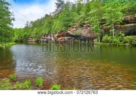 Pickett Lake At Pickett State Park, Tn.
