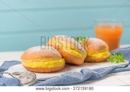Portuguese Fried Dough With Sugar