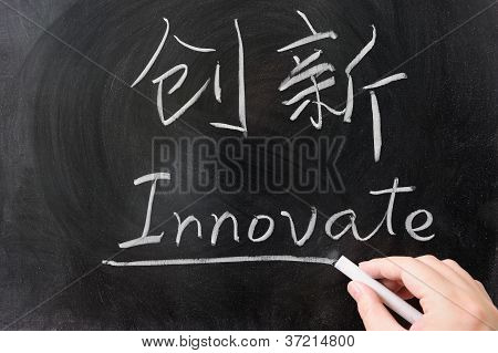 Innovate Word In Chinese And English