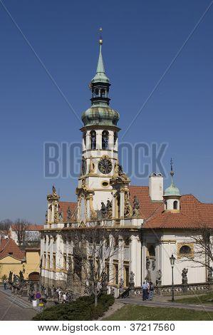 Baroque Church Loreta, Prague, Czech Republic