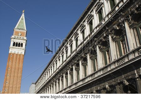 Bell Tower, Venice, Italy