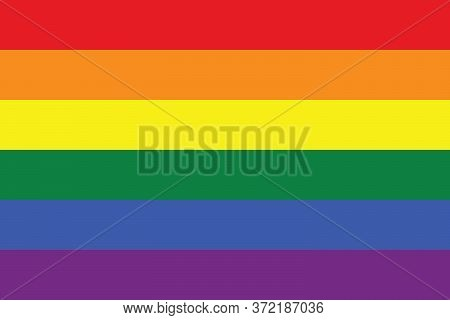 Lgbt Rainbow Pride Flag Lesbian, Gay, Bisexual, And Transgender Symbol For Graphic Design, Logo, Web