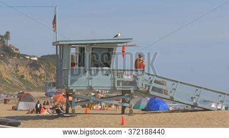 Zuma Beach In Malibu - Malibu, United States - March 29, 2019