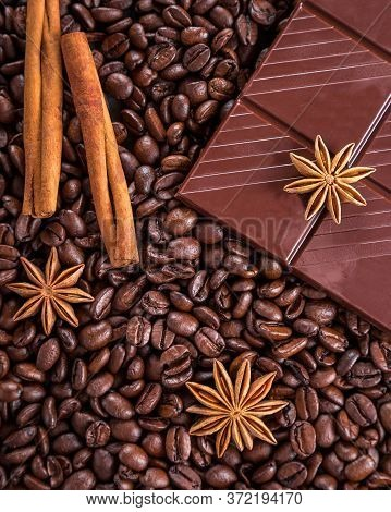 Coffe Bean And Chocolate, Delicious Bean Chocolate