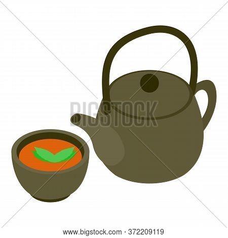 Tea Ceremony Icon. Isometric Illustration Of Tea Ceremony Vector Icon For Web