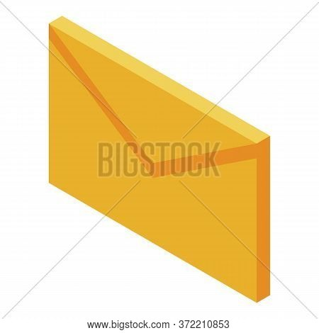 Buyer Mail Icon. Isometric Of Buyer Mail Vector Icon For Web Design Isolated On White Background