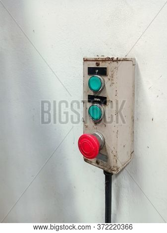Switch On Off , Control Of Electrical System Factory