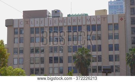Los Angeles Jewelery Market Building In Downtown Los Angeles - Los Angeles, Usa - March 18, 2019