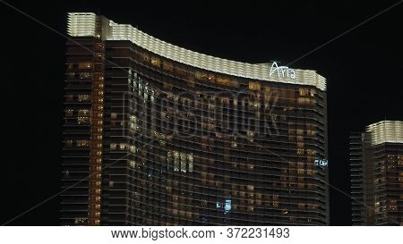 Amazing Aria Hotel In Las Vegas - Las Vegas-nevada - October 11, 2017