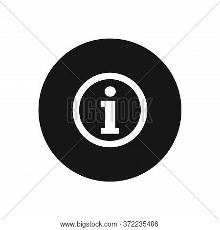 Information Icon Isolated On White Background. Information Icon In Trendy Design Style For Web Site