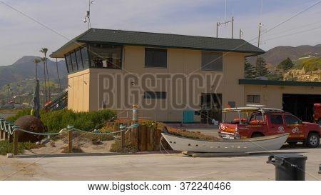 Malibu Lifeguards Headquarter At Zuma Beach - Malibu, United States - March 29, 2019