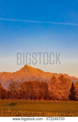 Krivan in Hight Tatras, Slovakia