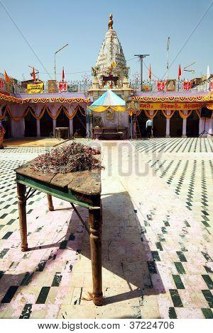 Indian Temple in Jodhpur, Rajasthan, India