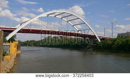 Korean Veterans Blvd Bridge To Nashville - Nashville, Usa - June 17, 2019