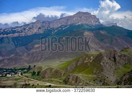 Rocky Mountains On Sky Background.rocky Mountains On Sky Background