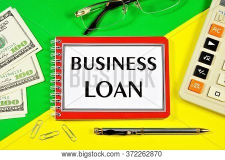 Business Credit-an Inscription Of The Planning Text. Technology For Meeting Financial Needs With Mon