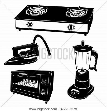 Household Or Home Appliances, Fridge, Stove, Kitchen Electric Appliances, Dishwasher, Washing Machin