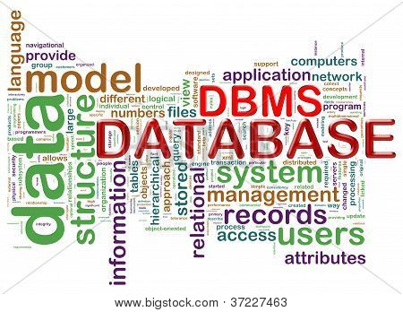 Word Tags Of Dbms