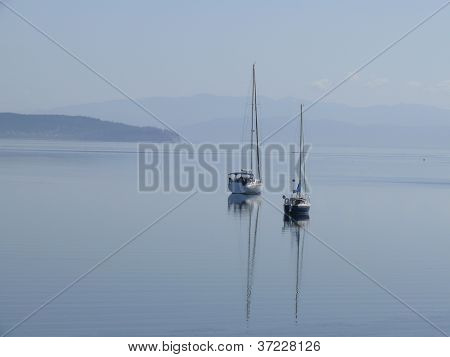sailing boats on puget sound