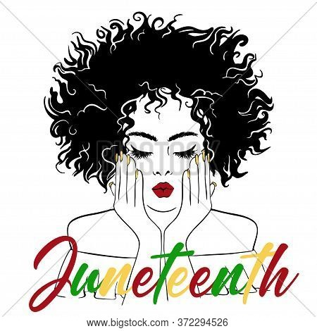 Juneteenth Day, African-american Independence Day, Day Of Freedom And Emancipation