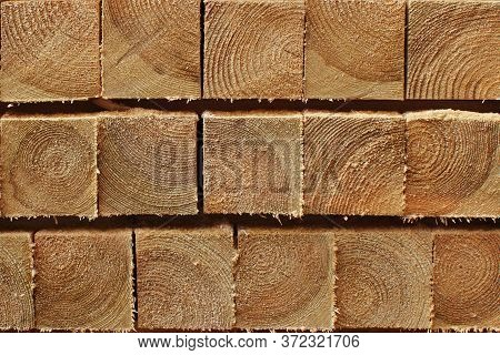 Neat Softwood Beam Texture Background Room Design