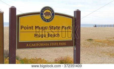 Mugu Beach At Point Mugu State Park Malibu - Malibu, United States - March 29, 2019