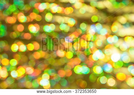 Real Defocused Lights. Colorful Defocused Lights Collection, Background.