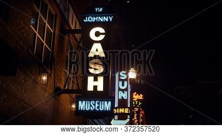Johnny Cash Museum In Nashville - Nashville, Usa - June 17, 2019