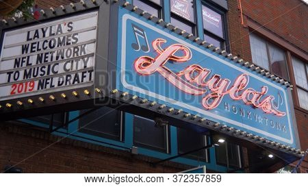 Laylas Bar And Stage In Nashville - Nashville, Usa - June 17, 2019