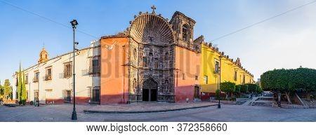 The Templo De Nuestra Señora De La Salud Early In The Morning, In San Miguel De Allende, Guanajuato,