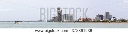 Corpus Christi, Gulf Of Mexico Port City In The State Of Texas, United States Of America