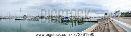 The Shoreline View Of The City Of Corpus Christi, In The State Of Texas, United States Of America